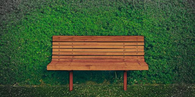 Eine Gartenbank aus Holz bringt Atmosphäre und Gemütlichkeit in den Garten. Die Holzbank lädt zum Verweilen und Entspannen ein.